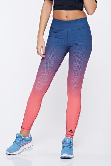 Pink Adidas sportos jégernadrág rugalmas anyagból pöttyökkel
