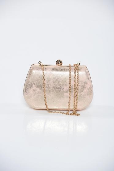 Pink fémes jelleg alkalmi táska fémes kiegészítő
