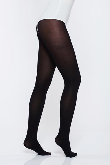 Fekete harisnyák & zoknik 400 den rugalmas pamut csuszasgatlo sav