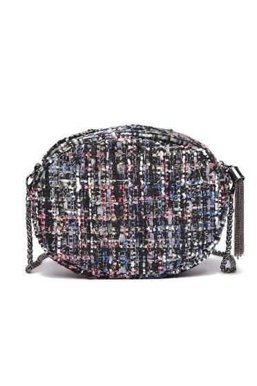 Fekete Top Secret táska hétköznapi hosszú lánc típusú pánt valamint rövid