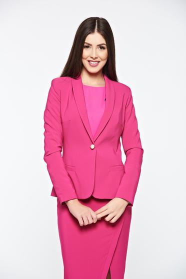 Pink LaDonna szűkített blézer belső béléssel