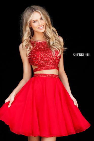Piros Sherri Hill 51295 Ruha