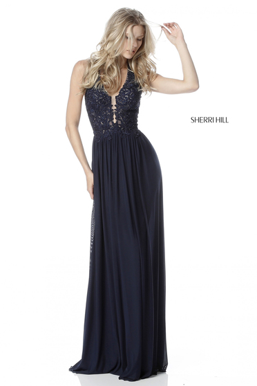 Fekete Sherri Hill 51553 Ruha