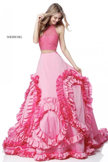 Pink Sherri Hill 51577 Ruha
