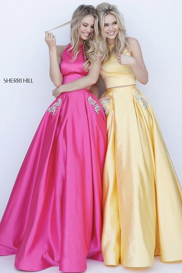Pink Sherri Hill 51587 Ruha