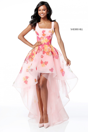 Pink Sherri Hill 51684 Ruha