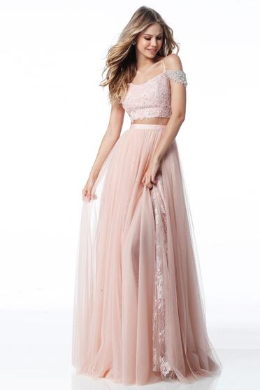 Rózsaszínű Sherri Hill 51771 Ruha