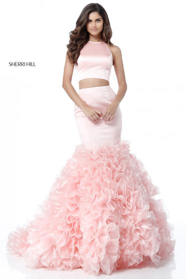 Rózsaszínű Sherri Hill 51801 Ruha
