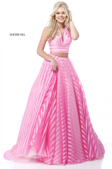 Pink Sherri Hill 51804 Ruha