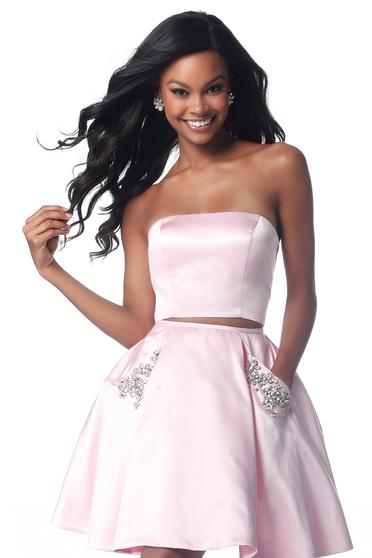 Pink Sherri Hill 51823 Ruha