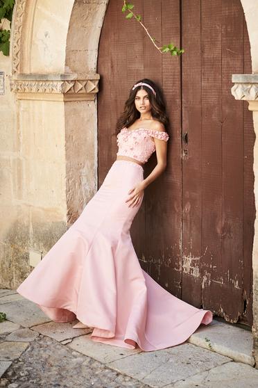 Rózsaszínű Sherri Hill 51862 Ruha