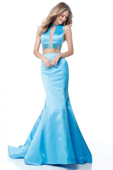 Kék Sherri Hill 51864 Ruha