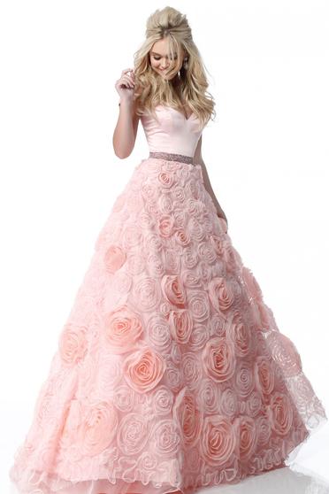Rózsaszínű Sherri Hill 51885 Ruha