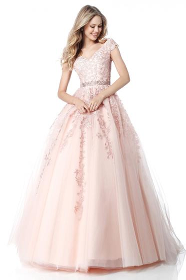 Rózsaszínű Sherri Hill 51905 Ruha