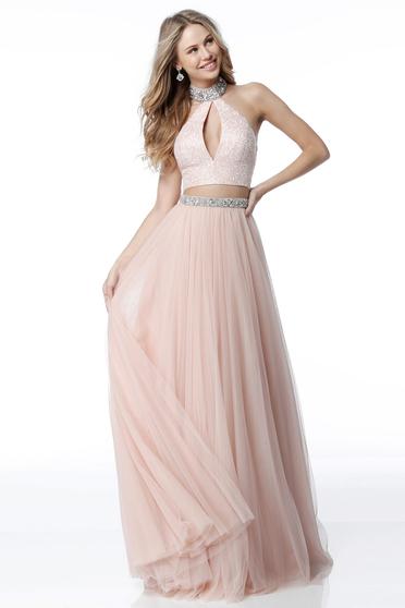 Rózsaszínű Sherri Hill 51910 Ruha