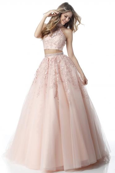 Rózsaszínű Sherri Hill 51925 Ruha