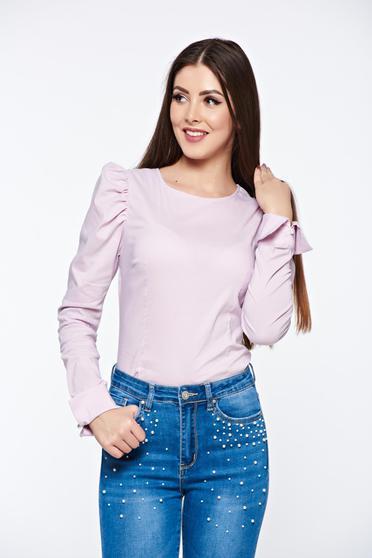 Rózsaszínű Artista női ing szűk szabás rugalmas pamut
