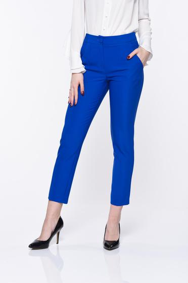 Kék Artista nadrág irodai kónikus zsebes