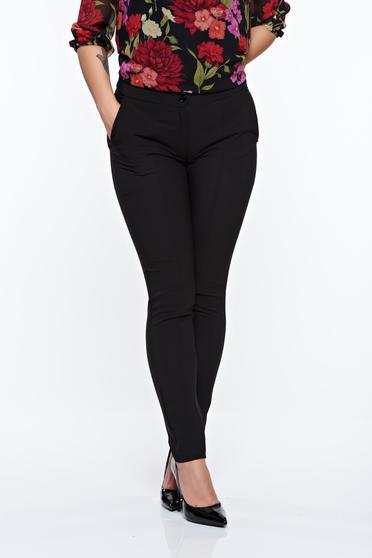 Fekete LaDonna irodai kónikus nadrág enyhén rugalmas anyag