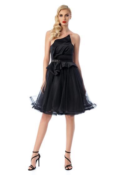Fekete Ana Radu ruha szivacsos mellrész belső béléssel szatén anyagból tűll