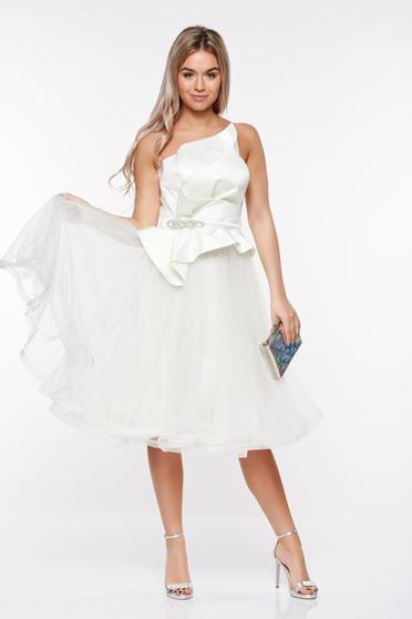 Fehér Ana Radu ruha szivacsos mellrész belső béléssel szatén anyagból