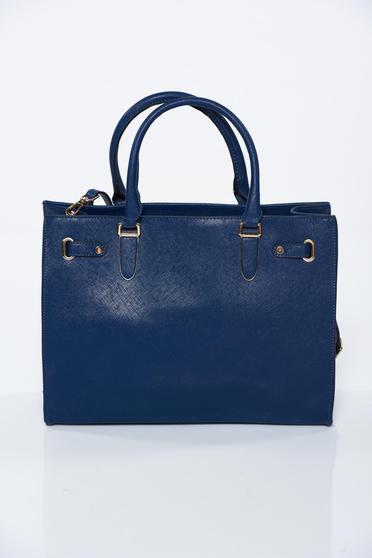 Kék irodai táska műbőr