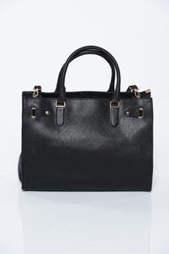 Fekete irodai táska műbőr