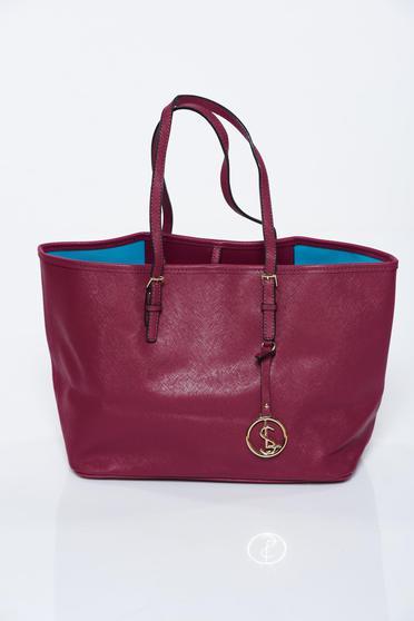 Burgundy táska műbőr irodai