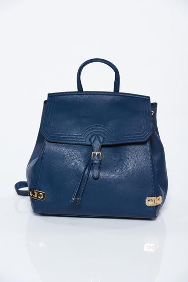 Kék casual hátizsák műbőr