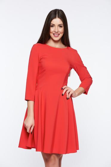 Piros LaDonna elegáns harang ruha rugalmas anyag