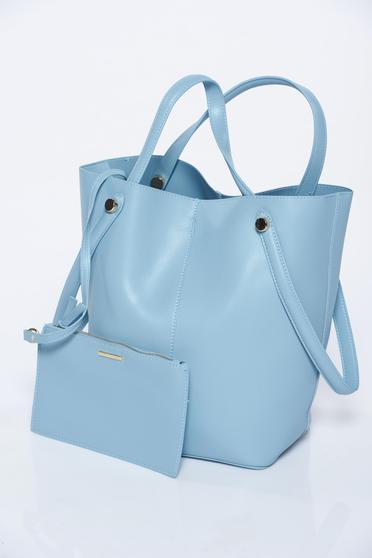 Világoskék Top Secret casual műbőr táska
