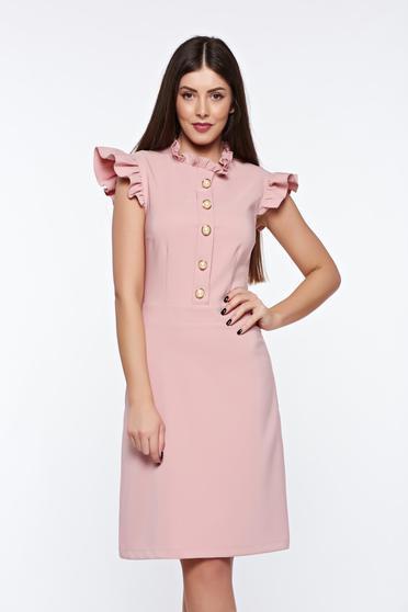 Rózsaszínű LaDonna elegáns ruha rugalmas és finom anyag belső béléssel