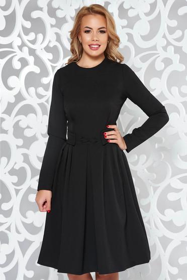 Fekete Artista irodai harang ruha enyhén rugalmas anyag