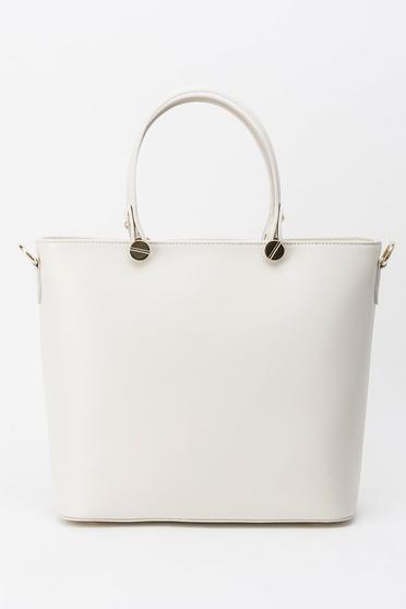 Krém irodai táska hosszú, állítható pánt