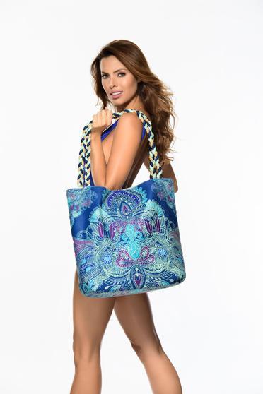 Kék Cosita Linda táska strandi közepes hosszuságú fülek