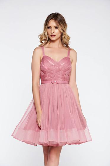 Pink Ana Radu harang ruha belső béléssel fűzős tüll