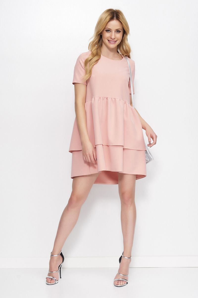 fdbe9b5fcc Rózsaszínű Makadamia ruha e.