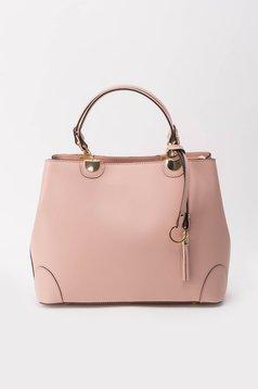 Rózsaszínű irodai táska hosszú, állítható pánt