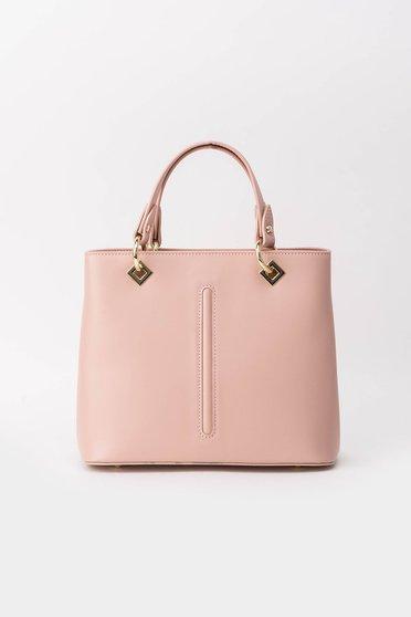 Rózsaszínű irodai táska fém kiegészítők