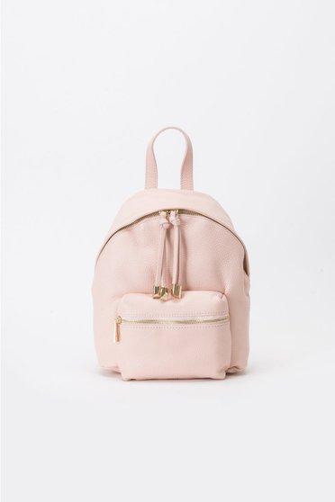 Rózsaszínű hátizsákok casual fém kiegészítők