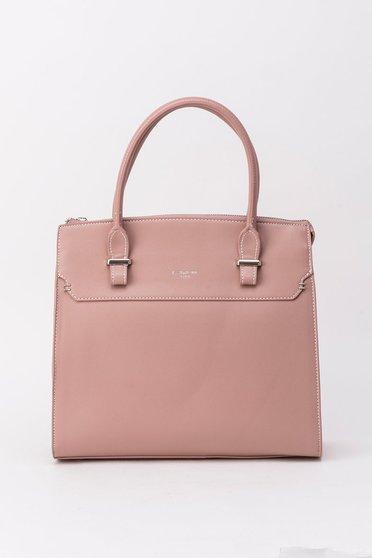 Rózsaszínű táska irodai műbőr
