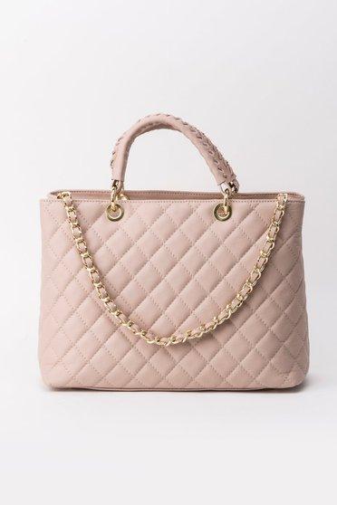 Rózsaszínű irodai táska