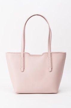 Rózsaszínű táska irodai rövid fülekkel