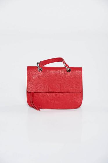 Piros casual táska