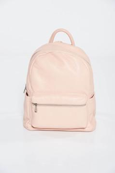Rózsaszínű casual hátizsák