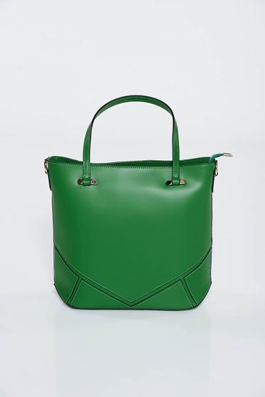 Zöld táska irodai rövid fülekkel