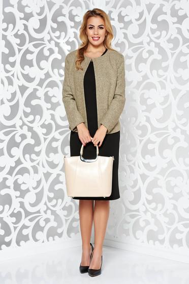 Krém elegáns két részes női kosztüm