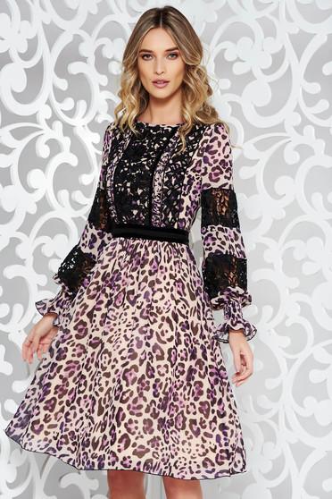 Krém LaDonna elegáns harang ruha fátyol belső béléssel csipke díszítéssel 2b23d5d5d5