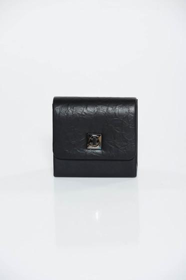 Fekete táska alkalmi műbőr