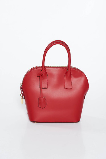 Burgundy irodai táska egy rekesz, belső zsebekkel